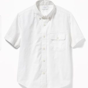 Toddler White Button down
